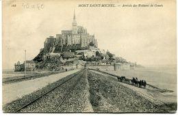 CPA - Carte Postale - France - Le Mont Saint Michel - Arrivé Des Voitures De Genets  (CP831) - Le Mont Saint Michel