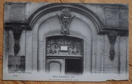 Paris D'Autrefois - Rue Censier , 15 - Fut Caserne Au XVIIIe Siècle - Angle Bas Dte Détérioré - (n°10045) - District 05