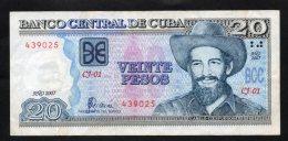 Banconota  Cuba 20 Pesos 2007 - Cuba