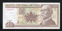 Banconota  Cuba 10 Pesos 2008 - Cuba