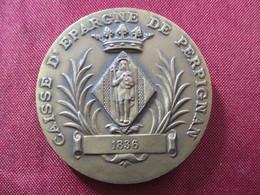 Médaille Perpignan Caisse D'épargne 1968 - Other
