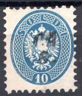 LOMBARDO VENETO 1864 10 SOLDI USATO - Lombardo-Vénétie