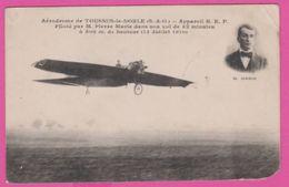( 78 ) TOUSSUS Le NOBLE  AVIATION - Appareil R.E.P. Piloté Par Pierre MARIE 1910 - Toussus Le Noble