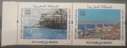 Morocco 2017 MNH Complete Set 2v. - Port Of Tanja, Medetirrenean Sea - Morocco (1956-...)
