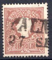LOMBARDO VENETO 1859 10 SOLDI USATO - Lombardo-Vénétie