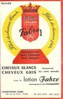 VP-GF.18-43 : BUVARD.  LOTION CAPILLAIRE  FABRE. CHEVEUX. COIGFFEUR. - Parfums & Beauté