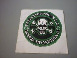Panathinaikos Gate 13 Ultras Voreia Proasteia North Suburbs Fan Club Sticker Autocollant (skull & Bones Theme) - Stickers
