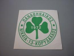 Panathinaikos Gate 13 Ultras Nikaia Korydallos Fan Club Sticker Autocollant Shamrock Theme) - Stickers