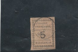 Madagascar - Yvert 8  Oblitéré - Froissure - Madagascar (1889-1960)
