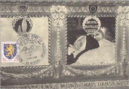 4426 Carte Postale Oblitération Illustrée Châsse Ste Bernadette Nevers Lourdes 13 12 1969 90 ° Anniversaire De La Mort - Christianisme
