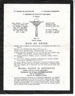 Père Cent 1er R.C.P. Pau. 65 1/4.  3 Pages D'humour Militaire. - Partecipazioni