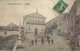 30  CORCONNE  L'Eglise Animation  1913 - France