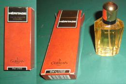 GUERLAIN PARIS HERITAGE EAU DE TOILETTE   50 Ml 1,7 FL OZ 1996  VAPORISATEUR - NATURAL SPRAY - Fragrances
