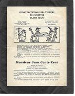 Père Cent 62/2C. Mulhouse.  3 Pages D'humour Militaire. - Partecipazioni