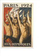 19407 - Paris 1924 Jeux Olympiques D'Eté (Reproduction D'Affiche Format 10 X 15) - Jeux Olympiques