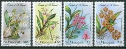 1985 St.Vincent Orchidèe Orchids Orchidées Flowers Blumen Fleurs Set MNH** Fio188 - St.Vincent (1979-...)