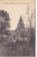 Serevillers (60) - L'Eglise En Septembre 1919 - Otros Municipios