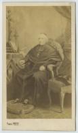 CDV Circa 1860 Pierre Petit . Le Cardinal Morlot , Archevêque De Paris . D'après Tableau . - Photos