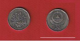Cap Vert  -  20 Escudos 1994   --  Km # 33 - état  TTB  -- - Cape Verde