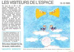 VP-GF.18-72 : BUVARD.  ESPACE. ASTRONAUTE. - Buvards, Protège-cahiers Illustrés