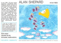VP-GF.18-76 : BUVARD.  ASTRONAUTE  ALAN SHEPARD - Buvards, Protège-cahiers Illustrés