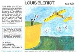 VP-GF.18-78 : BUVARD.  AVIATEUR LOUIS BLERIOT - Buvards, Protège-cahiers Illustrés