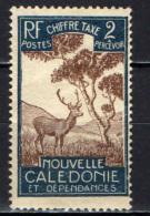 NUOVA CALEDONIA - 1928 - MALAYAN SAMBAR - Timbres-taxe