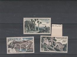 Madagascar - Yvert PA 75 à 77 * Neufs Avec Charnière - Madagascar (1889-1960)