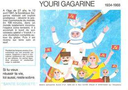 VP-GF.18-80 : BUVARD.  ASTRONAUTE YOURI GAGARINE - A
