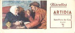 VP-GF.18-84 : BUVARD.  BISCOTTES ARTIDIA. SAINT-PIERRE-DES-CORPS. INDRE ET LOIRE - Biscottes