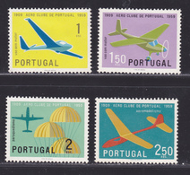 PORTUGAL N°  864 à 867 ** MNH Neufs Sans Charnière, TB (D5264) Avions, Vol à Voile, Parachutisme - 1910-... République