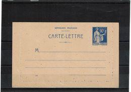 CTN27 - CARTE LETTRE PAIX 90c. DATE 916  OBLIQUE NEUVE TTB STORCH F1 - Cartes-lettres