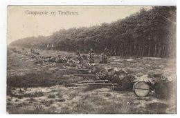 Belgisch Leger  : Compagnie En Tiralleurs  Omgeving LIER 1912 Leopoldsburg - Manovre