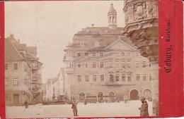 Foto Coburg - Rathaus - Atelier Moser, Berlin - Ca. 1900 - 10*6,5cm (33349) - Orte