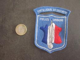ANCIEN ECUSSON TISSU UNITE LEGERE DE SECURITE - Police