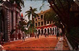! Old Postcard Hongkong Shanghai Bank Beconsfield Acade, Hong-Kong, China, Chine - China (Hong Kong)