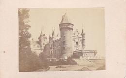 Foto Schloss In Frankreich (?) - Ca. 1900 - 10*6cm (33354) - Orte