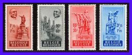 1948 - Belgica - Sc. B 455 - B 458 - MNH - BE- 126-1 - Belgium