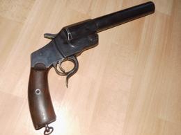 Pistolet Lance Fusées Allemand WW1 Hebel 1894 - 1914-18