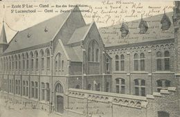 Gand       Ecole St Luc  -  Rue Des Soeurs Noires.   -   1900 Naar  Villers-Le-Gambon - Gent