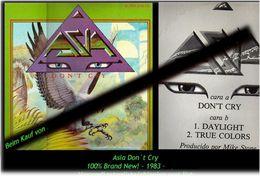 ASIA - Don T Cry - Von 1980 - Neue LP - 100 % Brand News - Hard Rock & Metal