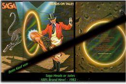 SAGA - Heads Or Tales - Von 1983 - Neue LP - 100 % Brand News - Punk