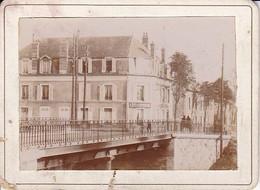 Foto Haus Und Brücke - Frankreich - Ca. 1900 - 9*7cm (33360) - Orte