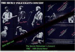 THE SECRET POLICEMAN S CONCERT - Von 1982 - Neue LP - 100 % Brand News - Hard Rock & Metal