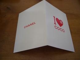 Carte Chanel I Love Coco - Perfume Cards