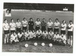 TOURS -Equipe De Football -Photographie Veritable Dédicatée  Des Joueurs Du FC TOURS- - Football
