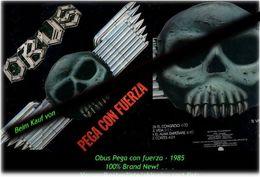 OBUS - Pegan Con Fuerza - Von 1985 - Neue LP - 100 % Brand News - Hard Rock & Metal