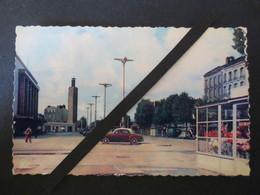 76 - Le Havre - Carte Photo Dentelée - La Gare Et Le Cours De La République  - Bellevues - C51  - B.E - - Station