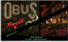 OBUS - Preparate - Von 1981 - Neue LP - 100 % Brand News - Hard Rock & Metal
