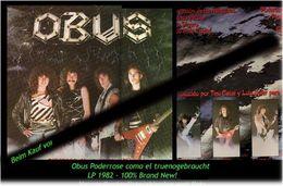 OBUS - Poderrose Como El Trueno - Von 1982 - Neue LP - 100 % Brand News - Hard Rock & Metal
